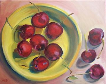 copyright Marty Barrick oil on canvas 16 x 20 $200
