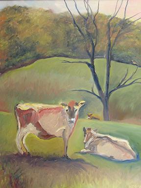 copyright Marty Barrick 18 x 24 oil on canvas $225