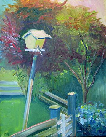 Copyright Marty Barrick  oil on canvas  11 x 14  $200