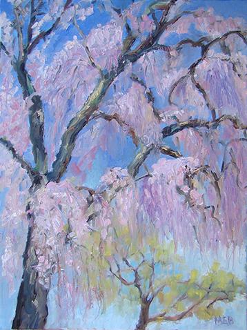 Copyright Marty Barrick Oil on canvas 12 x 16 $250