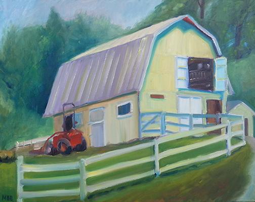 Boyds, Maryland Oil on canvas 16 x 20 $300