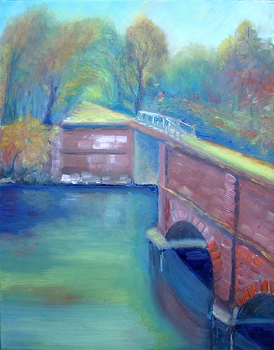 Copyright Marty Barrick Oil on canvas 16 x 20 $275