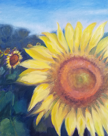 Copyright Marty Barrick 16 x 20 oil on canvas Available at Brookside Gardens exhibit, March 2018