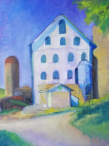 Witches Windows 12 x 16 Mount Airy, Maryland June 10, 2017 Barnstormers Sold