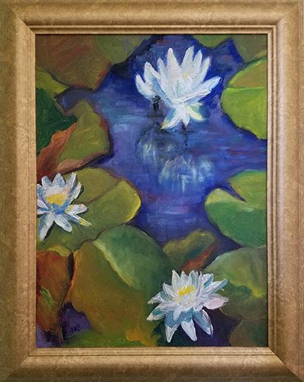 Copyright Marty Barrick  12 x 16 oil on canvas $275