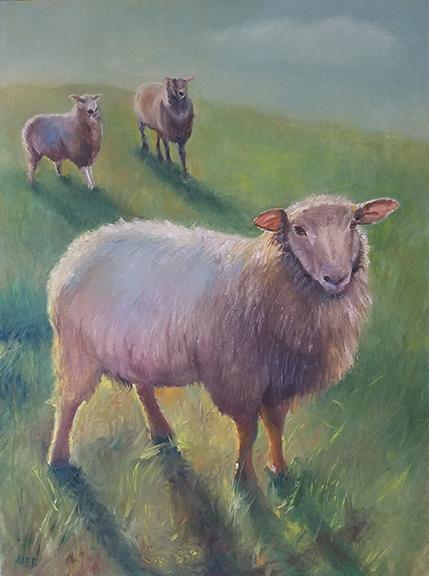 Copyright Marty Barrick  30 x 40 oil on canvas $700