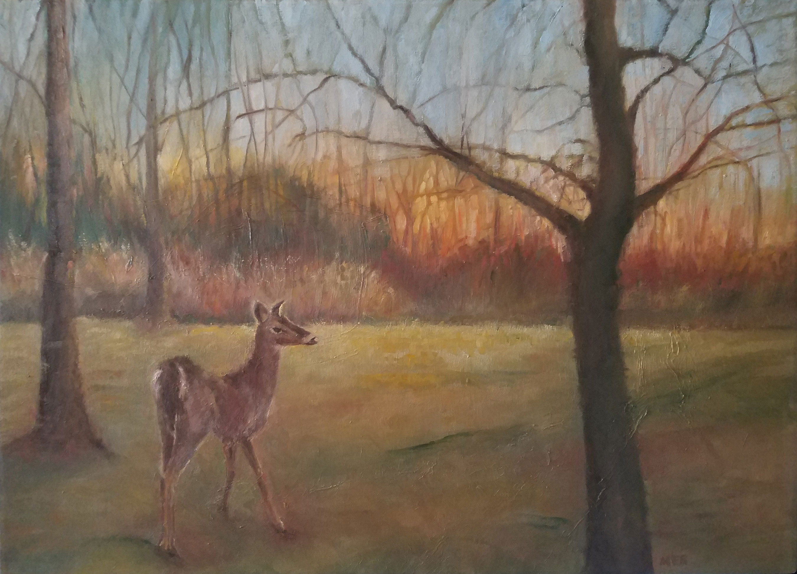 Copyright Marty Barrick Oil on gallery-wrapped canvas 36 x 26 Available at Brookside Gardens Feb. 26-March 25, 2018